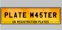 Search for private number plates at Plate Master and uncover the perfect registration plates for you with our quick and easy unique personalised number plates online search system.